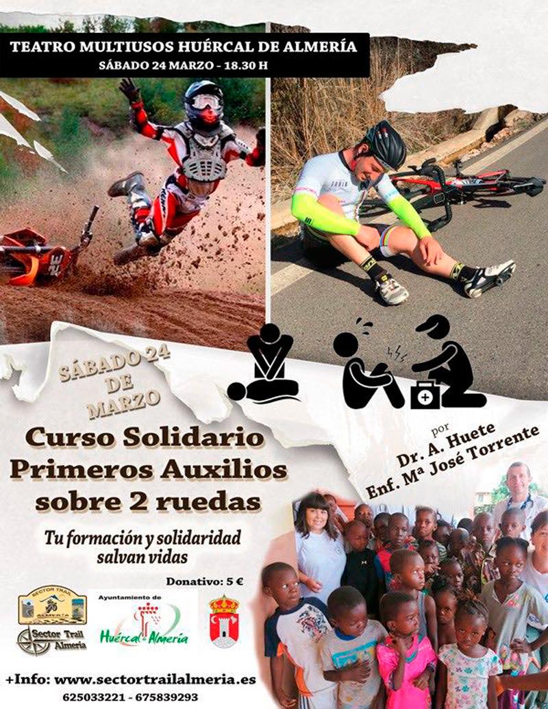 Curso Solidario Primeros Auxilios sobre 2 ruedas