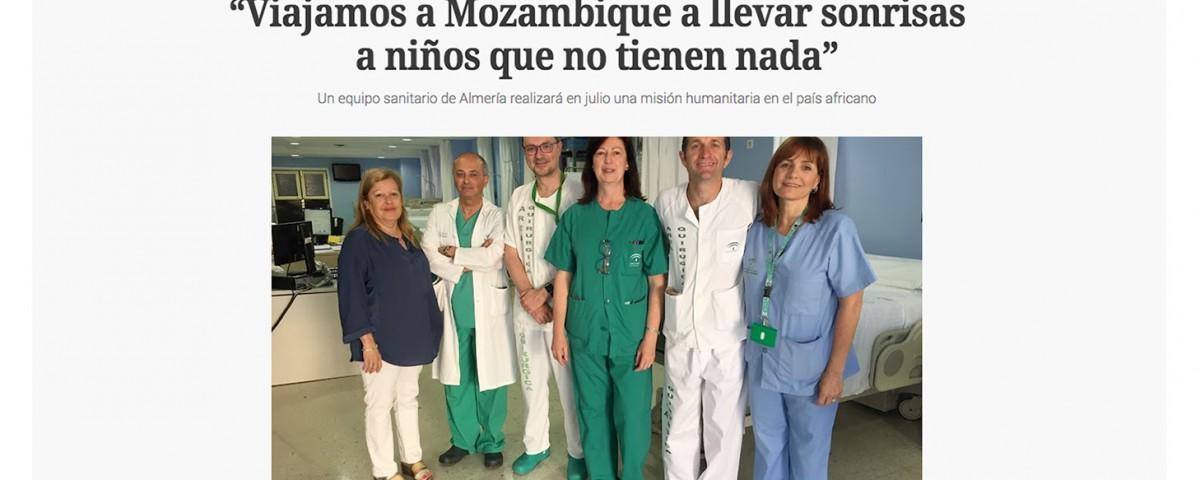 Misión Humanitaria a Mozambique - verano 2018 - doctor Antonio Huete
