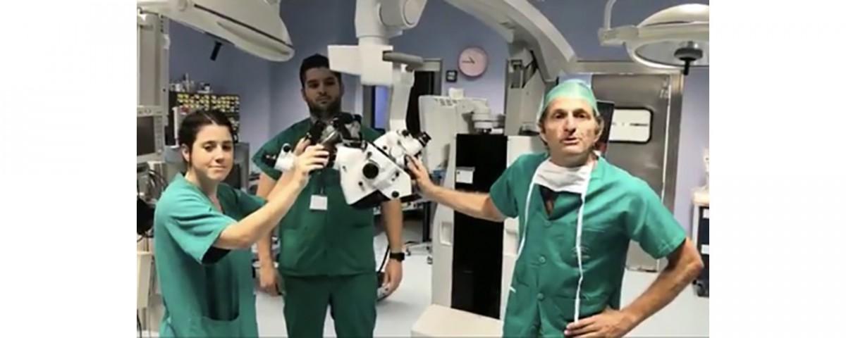 Nuevo microscopio en Torrecárdenas - doctor Huete
