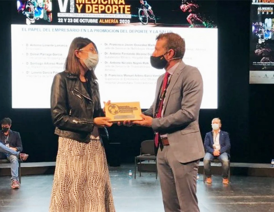 Turki, galardonado en la Reunión de Medicina y Deporte 2020