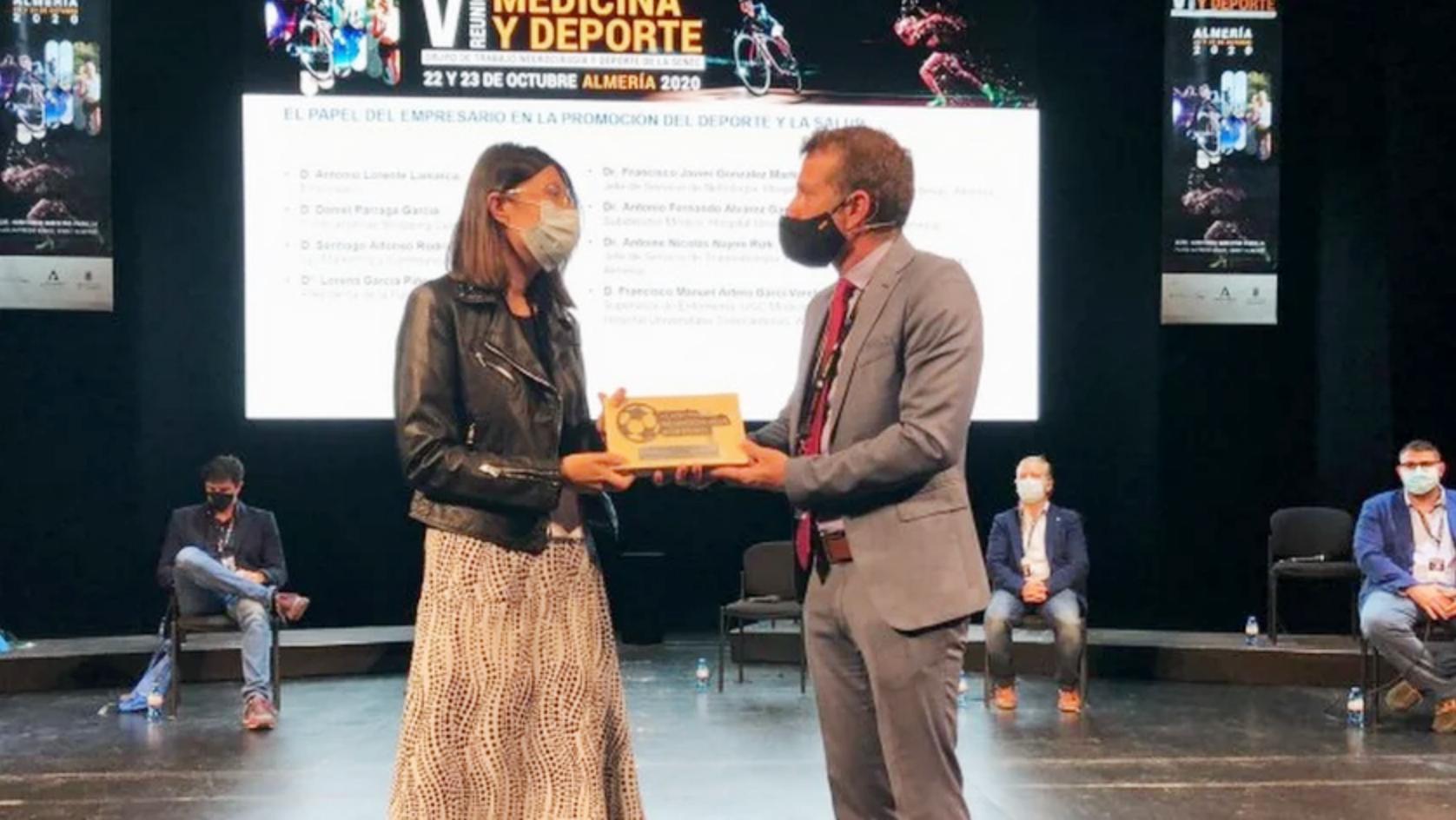 Turki galardonado en la Reunión de Medicina y Deporte 2020